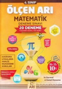 6.Sınıf Matematik Ölçen Arı 20'li Deneme 2019