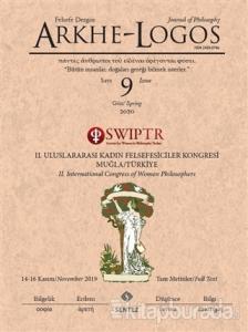 Arkhe - Logos Felsefe Dergisi Sayı: 9 Güz 2020