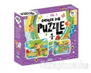 Çocuklar İçin Puzzle 1 (Kutulu)