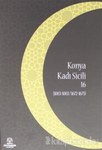Konya Kadı Sicili 16 (Ciltli)