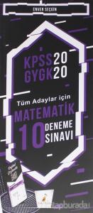 KPSS 2020 GYGK - Tüm Adaylar İçin Matematik 10 Deneme Sınavı