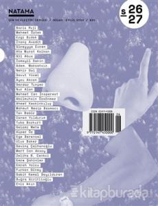 Natama Şiir ve Eleştiri Dergisi Sayı: 26-27 Nisan - Eylül 2020