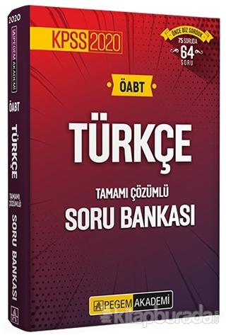 2020 KPSS ÖABT Türkçe Tamamı Çözümlü Soru Bankası