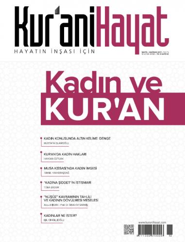 Kur'ani Hayat Dergisi/Kadın Ve Kur'an/ Mayıs-Haziran 53.Sayı Kolektif