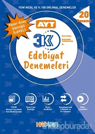 AYT 3K Edebiyat Denemeleri Kolektif