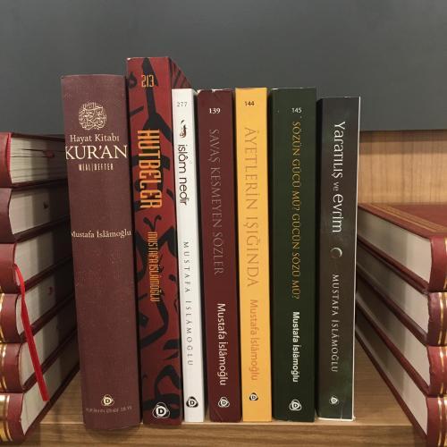 Mustafa İslamoğlu Sözün Gücü Kitap Seti 7 Kitap (Alemlerin Rabbi Allah