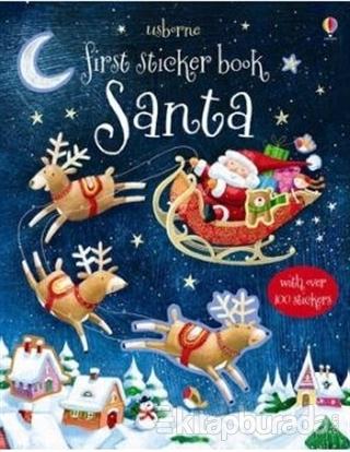 First Sticker Book : Santa