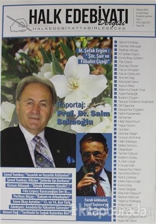 Halk Edebiyatı Dergisi Sayı: 4 Ocak-Şubat 2015
