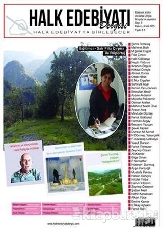 Halk Edebiyatı Dergisi Sayı : 9 / Kasım-Aralık 2015