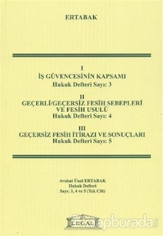 Hukuk Defteri Sayı: 3-4-5 (Tek Cilt)