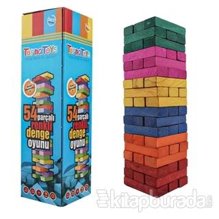 Renkli Denge Oyunu - 54 Parça