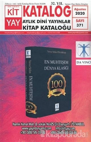Türkiye Kitap Kataloğu - Dini Sayı: 371 Ağustos 2020