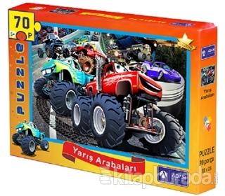 Yarış Arabaları 70 Parça Puzzle